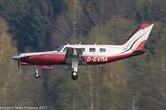 D-EVMA - 1986 build Piper PA-46 JetPROP (conversion), inbound to Runway 24 at Friedrichshafen during Aero 2017 (egcc) Tags: 018 4608034 aero aerofriedrichshafen aerofriedrichshafen2017 bodensee cftnm devma edny fdh friedrichshafen jetprop lightroom malibu n121rf n121rp n302h n87ww n9104z pa46 pa46310p piper conversion