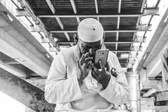 untitle (Tarang Jagannath) Tags: man mobile busy universe