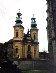 Prague? (sftrajan) Tags: baroque church architecture scanned edited chiesa kirche centraleurope arquitectura architektur architettura архитектура building