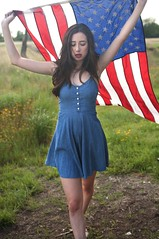 Let Your Colors Fly (Natural World Gallery) Tags: 4thofjuly modelingamericana femalemodel brunettebeauty topmodels bestgirlsofflickr amazingportraits messyhair cutesummerdress