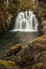 Black Linn of Blairvaich (mscelnik) Tags: aberfoyle forest hillwalking kinlochard waterfall blacklinnofblairvaich longexposure