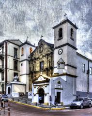 Old Church In Panama City (Bernai Velarde-Light Seeker) Tags: cascoviejo cascoantiguo iglesia urbano viejo panama centroamerica centralamerica church belltower campanario sanfelipe bernai velarde texture textura
