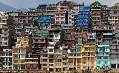 Nepal- Kirtipur (venturidonatella) Tags: nepal asia kirtipur case colori colors city citta finestre windows paesaggio landscape