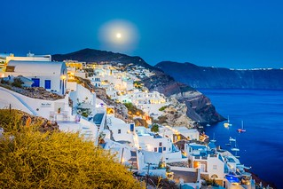 A lovely night in Oia