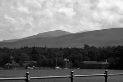 Cloudy over Bangor, Wales - UK (JerryGoulet) Tags: nikon nature bangor wildlife landscape blackwhite blackandwhite sepia black clouds skies sky sea water shores seaside wales uk