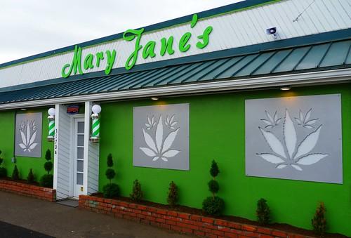 Mary Jane's Marijuana Dispensary in Eugene, Oregon