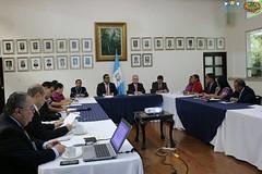"""Reunión de seguimiento sobre acuerdo especial entre Guatemala y Belice para someter a diferendo territorial y marítimo de Guatemala ante la CIDH 3 • <a style=""""font-size:0.8em;"""" href=""""http://www.flickr.com/photos/141960703@N04/34444273534/"""" target=""""_blank"""">View on Flickr</a>"""