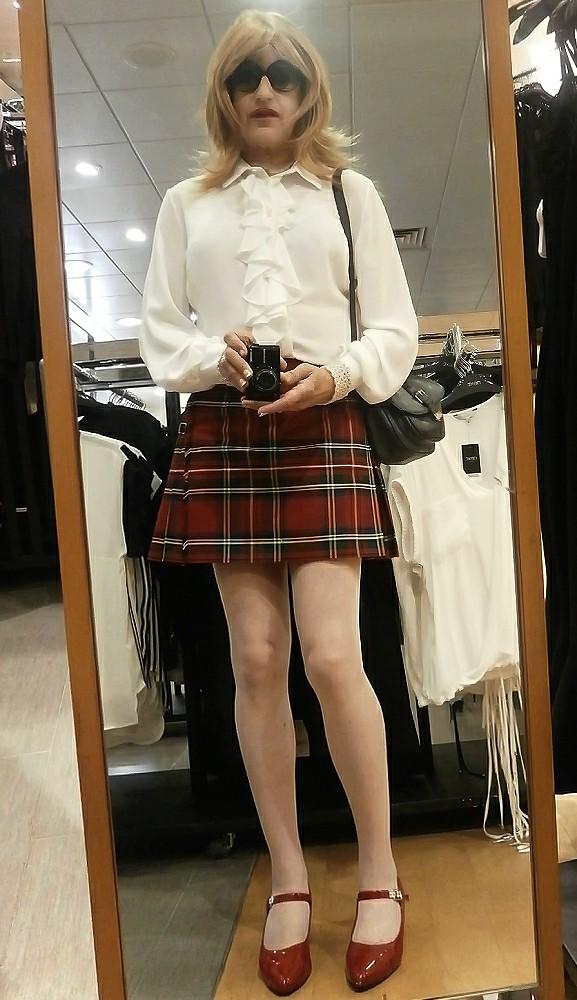 Scottish tgirl