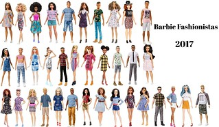 ♥Barbie Fashionistas 2K17♥