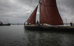 Thames sailing barge Orinoco (stocks photography.) Tags: thamessailingbarge orinoco michaelmarsh photographer sail sailing barge boat maritime