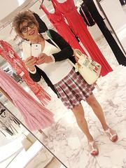 290519-1 (Ann Drogyny) Tags: shoes legs heels crossdress crossdresser crossdressing cd tv tg ts transvestite transgender transsexual tranny tgirl glamour pinup mature cute sexy stockings nylons suspenders garters