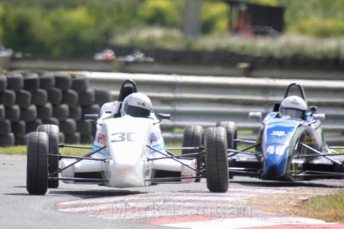 Keith Donegan in the Formula Ford FF1600 championship at Kirkistown, June 2017