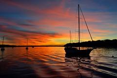 DSC_0030 (RUMTIME) Tags: sunset coochiemudlo coochie clouds sky water beach redlands brisbane