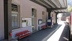 One Hundred Years of Schöllenen Railway (MGB) (Kecko) Tags: 2017 kecko switzerland swiss schweiz suisse svizzera innerschweiz zentralschweiz uri gotthard göschenen andermatt mgb matterhorngotthardbahn bahn eisenbahn train zug railway railroad 100jahre hundertjahre schöllenenbahn bahnhof station tunnel teufelsbrücke armee army swissvideo video geotagged geo:lat=46665430 geo:lon=8588490