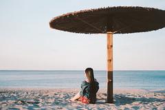 (awaylastdays) Tags: pentax me super pentaxmesuper kodakportra kodak portra beautiful beaty sky sun girl beach summer water ukraine ua outdoor color cherkasy colors cherkassy