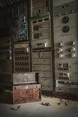 Timely computer repair (No Stone Unturned Photography) Tags: abandoned equipment computers toolbox bunker missile testing urbex bones