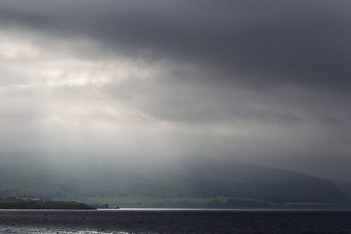 Hebridean rain clouds