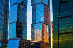 Reflection (lazarev.ma.ru) Tags: moscow city reflection building skyscraper москва сити стекла