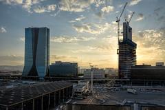 Glorieuses (RS...) Tags: marseille port tours leverdujour sunrise towers d800