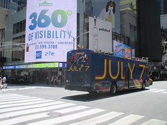 Spider-Man Homecoming Bus Ad 2017 NYC 8270 (Brechtbug) Tags: spiderman homecoming bus ad movie poster billboard 49th street 7th avenue 2017 nyc super hero marvel comic comics character spider man new york city film billboards standee theater theatre district midtown manhattan amazing home coming ads advertising yellow jacket cel phone cell mobile cellphone