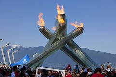 Vancouver Canada 150 (Clayton Perry Photoworks) Tags: vancouver bc canada canadaday canada150 celebration party jackpooleplaza olympic torch flame