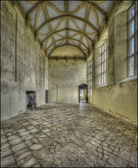 Kirby Hall interior (Darwinsgift) Tags: kirby hall northamptonshire great interior english heritage nikkor 19mm f4 pc e hdr photomatix nikon d810 photomerge