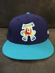 2017 Asheville Tourists Alternate Hippies Hat (black74diamond) Tags: 2017 asheville tourists alternate hippies hat