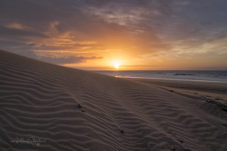 Sonnenaufgang in den Dünen von Gran Canaria / Sunrise in the dunes of Gran Canaria