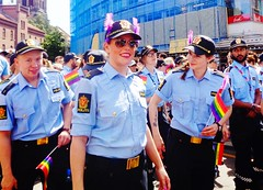 Oslo Pride - The Police (ausfi) Tags: oslo norway pride 2017 grønland