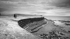 Lyme Regis (Jacob Kenworthy) Tags: lymeregis nature nikon d7000 dorset landscape light le longexposure land landscapes bw blackandwhite beach monochrome movement moody