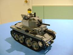 Custom WIP Lego Panzer 38 t Prototype (tekmoc17) Tags: lego panzer 38t 38 t ww2 custom moc brick war german tank