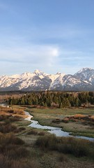 Good morning ☀️ (laura's Point of View) Tags: sunrise morning mountain mountains spring springtime tetons grandtetonnationalpark nationalpark rockymountains jacksonhole wyoming unitedstates northamerica west western pines lauraspov lauraspointofview landscape video birds stream creek river peace peaceful magical range snow