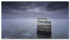 From two wires of freedom (João Cruz Santos) Tags: seascape waterscape longexposure tagusriver cacilhas portugal fotodiox wonderpana nd1000 10stops sigma1224