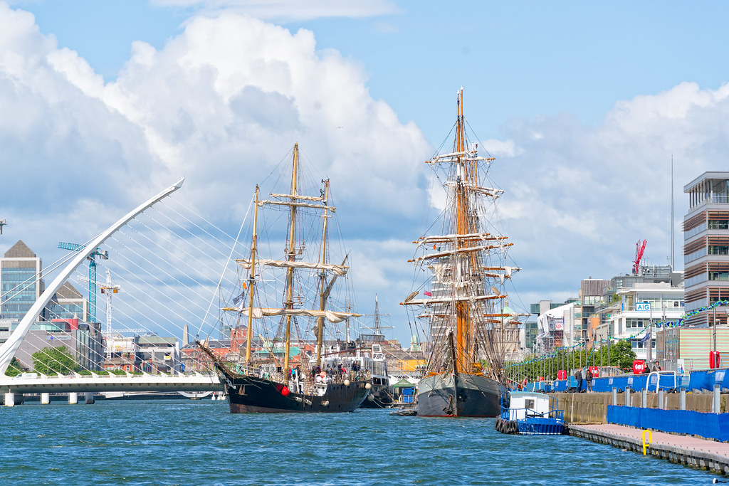 PELICAN OF LONDON [TALL SHIPS LEAVING DUBLIN PORT TUESDAY JUNE 6 2017]-129378