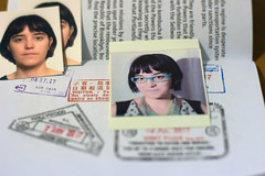 Day 364: Passports (Anomalily) Tags: 365 myself selfportrait home lateupload almost done passports visa fake fakepassports stamps