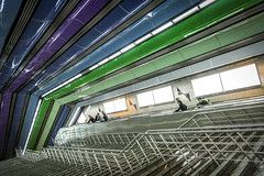 Tehran, Iran (gstads) Tags: iran tehran metro underground station metrostation undergroundstation stairs staircase architecture tajrish teheran persia ceiling
