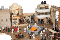 Jedha - Ambush On Tythoni Square-2 (Boba-1980) Tags: rebel tank rogue roguebricks lego one rougeone moc wars jedha ids stormtrooper afol star hovertank movie atst