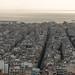 Concentração de edifícios na Atenas moderna