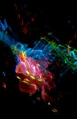 Refractograph S289-0A (Reciprocity) Tags: refractograph refraction light diffraction lightart experimentalphotography caustics abstract glass analogue 35mmfilm nikkormatbody s2890a bs806 ls161 transmittedlight refractedlight shadowgraph