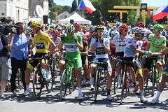 Tour de France 2017 (equipecyclistefdj) Tags: cyclisme tourdefrance2017 2017 competition tdf2017 etape06 departattente leaderjeunes leadergeneral leaderpoints leadermontagne astana oricascott fdj sky vesoul france