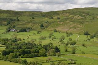 Hollins Cross on the Great Ridge, Peak District, Derbyshire, England.