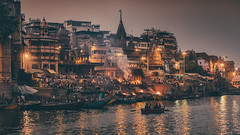 The City of the Dead (Andrew G Robertson) Tags: varanasi ghat manikarnika burning ganges river cremation funeral pyre hindu ritual pilgrim ceremory travel street ganga india