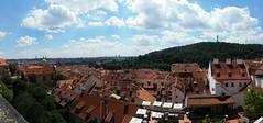 Beautiful view of Prague from Prasžský hrad. (michaeljohns3) Tags: pražskýhrad prague praha prag czechrepublic europe views castle