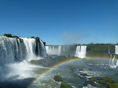 (IgorCamacho) Tags: céu azul blue sky cielo natureza nature fozdoiguaçu paraná southern brasil cataratas falls water água cachoeira rainbow arcoíris