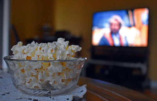 Popcorn & Stanley Kubrick by Sunny Today, Rain Tomorrow :), on Flickr