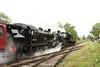 41313 & 46447 ESR  24/06/17 (Woolwinder) Tags: lmsr ivatt 262t 260 41313 46447 eastsomersetrailway england cranmore somerset isleofwightrailway crewe steamlocomotive