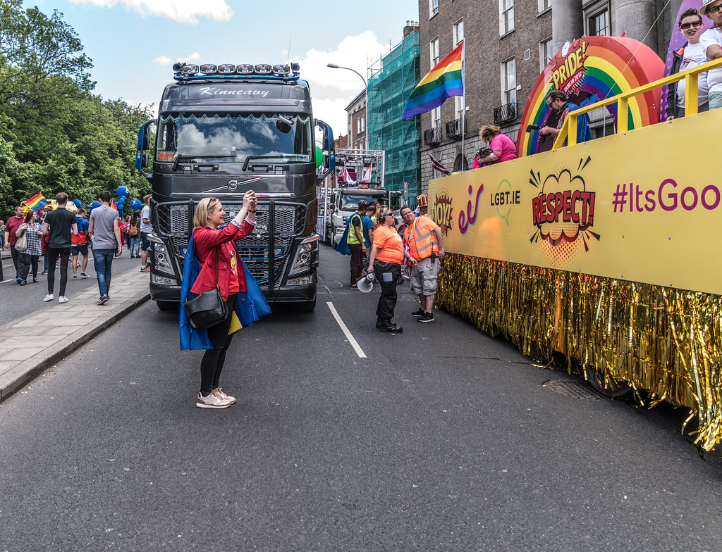 LGBTQ+ PRIDE PARADE 2017 [STEPHENS GREEN BEFORE THE ACTUAL PARADE]-129757