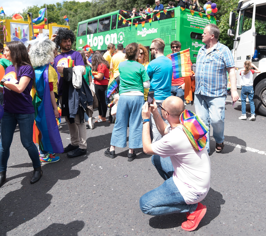 LGBTQ+ PRIDE PARADE 2017 [STEPHENS GREEN BEFORE THE ACTUAL PARADE]-129903