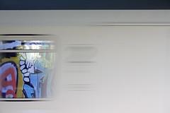 inter city (wallsdontlie) Tags: intercity cologne graffiti train reflection window ic bahn