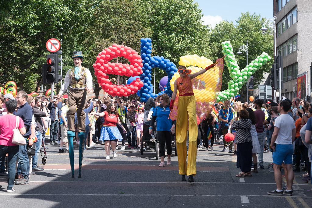 LGBTQ+ PRIDE PARADE 2017 [ON THE WAY FROM STEPHENS GREEN TO SMITHFIELD]-130130